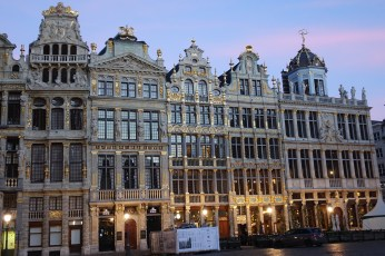 Brussels Grand Place buildings