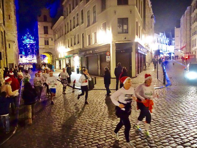 Brussels Santa Run