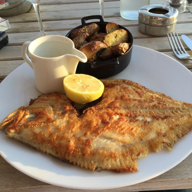 La Coorniche grilled fish