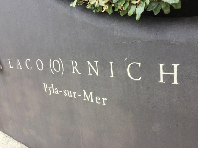 La Coorniche sign