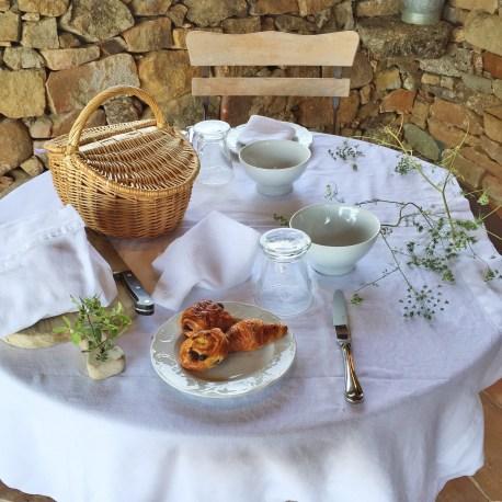 Domaine de Murtoli A Tiria table setting