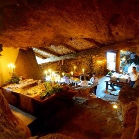 Domaine de Murtoli La Grotte dining room