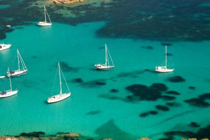 Roccapina sailboats