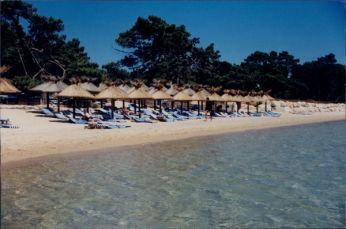 Grand Hotel Cala Rossa beach