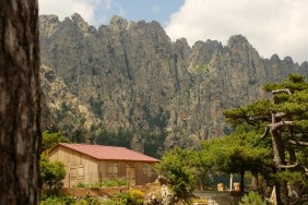 Aiguilles de Bavella cabin