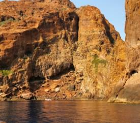 Scandola Nature Reserve canyon cliffs