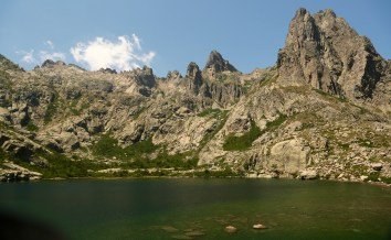 Lac de Melu lake