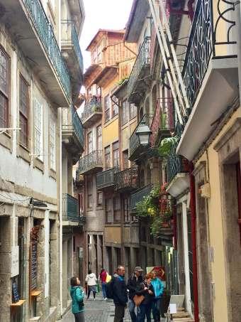 Porto Ribeira street