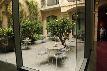 The Mercer Barcelona courtyard