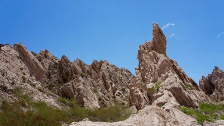 Ruta 40 Salta Argentina finger rock