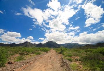 Ruta 40 Salta Argentina dirt road