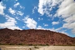 Ruta 40 Salta Argentina red rock