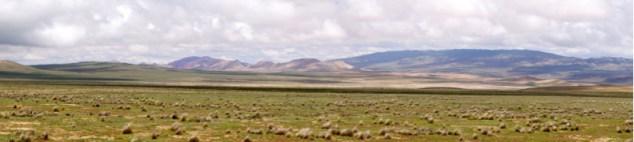 Ruta 33 Altiplano Salta panorama