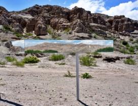 Ruta 40 Salta Argentina mirror art