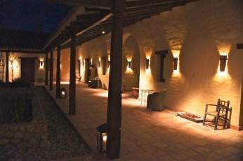 Colomé interior courtyards