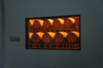 Colomé vineyards barrel aging