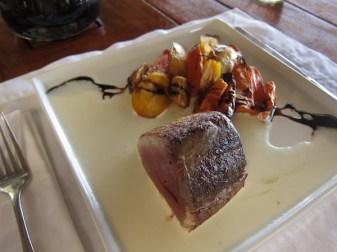 Pousada Maravilha dinner tuna