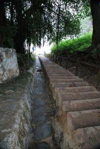 Praia do Sancho Fernando de Noronha beach stairs