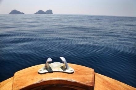 Positano boat ride view