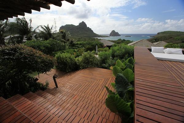 Pousada Maravilha deck terrace