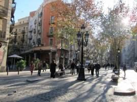 El Born pedestrian street