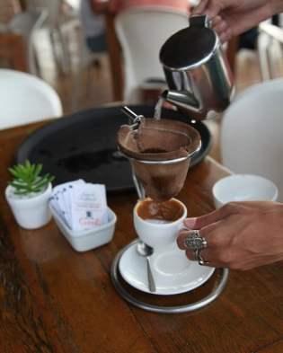 Restaurant Mergulhão coffee service