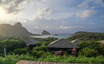Pousada Maravilha bungalow view