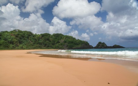 And then you walk out to pure solitude. No people. No hawkers. Just pristine beach.