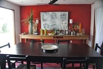 Posada del Faro dining room