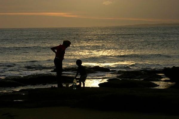 Playa Mansa sunset