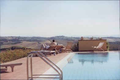 Villa Cerretello pool view