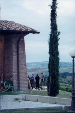 Villa Cerretello view