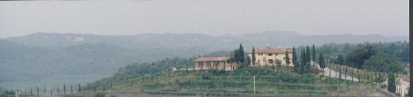Villa Cerretello hilltop