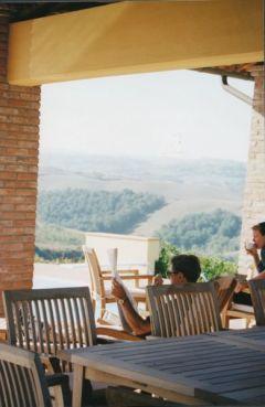 Villa Cerretello terrace
