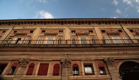 Bologna building balcony