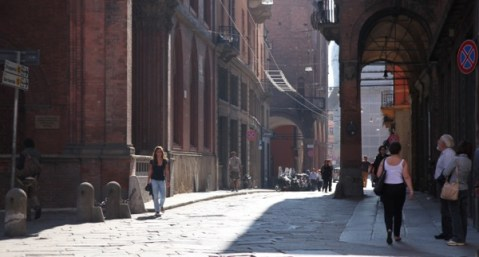 Bologna streetscape