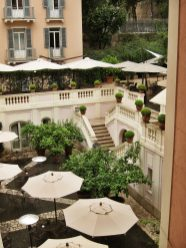 Hotel del Russie terrace view