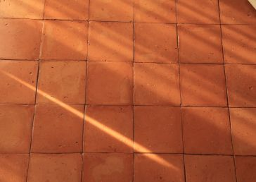 Il Pellicano terracotta floor