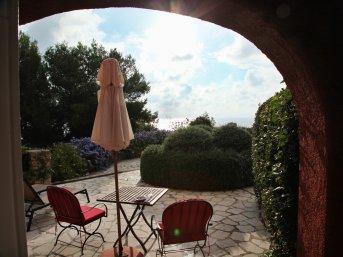 Il Pellicano terrace room chairs