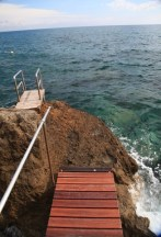 Il Pellicano diving platform