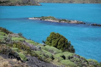 Torres del Paine National Park lake colors
