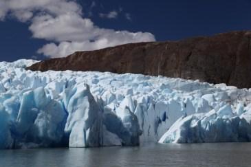 Torres del Paine Grey's Glacier ice wall