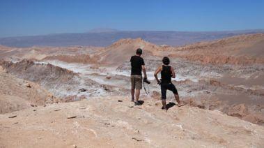 Atacama Val de Luna overlook