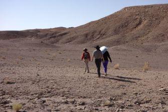 Atacama Desert Devil's Gorge top of trail