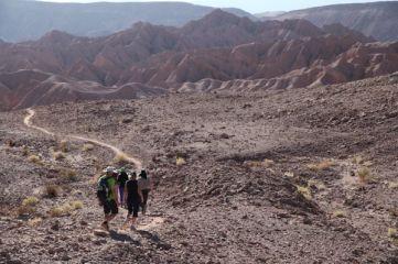 Atacama Desert Devil's Gorge heading out