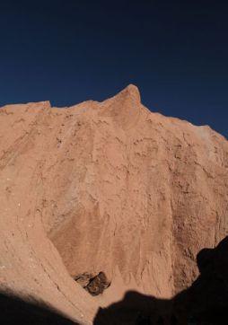 Atacama Desert Devil's Gorge tall peak