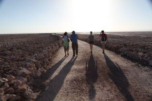Salar de Atacama trekkers