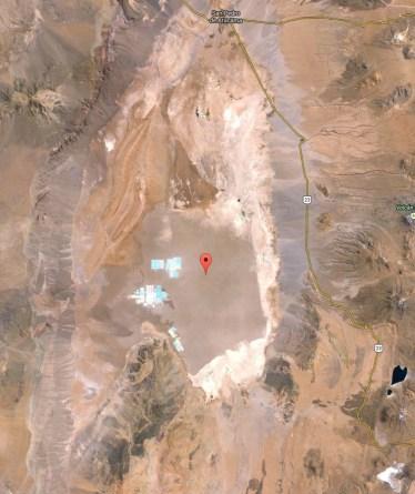 Salar de Atacama geography map