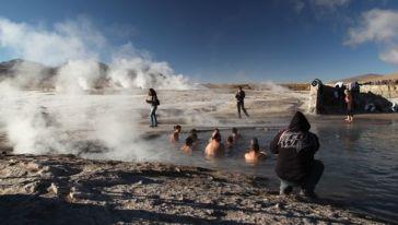 Tatio Geysers hot tub