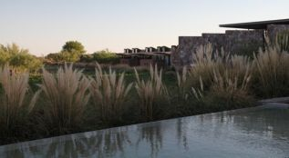 Tierra Atacama pool and reeds